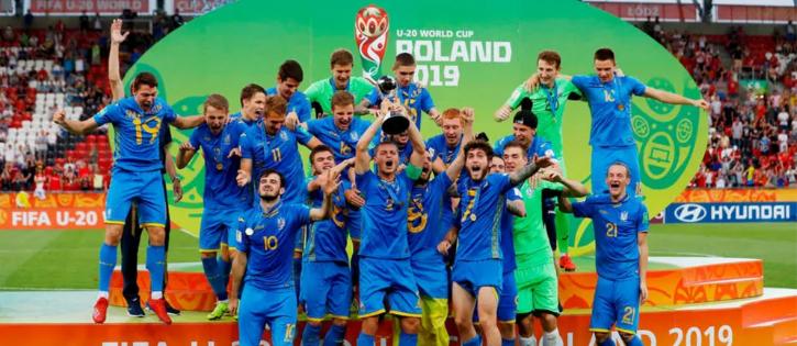 Ucrânia vence Mundial Sub-20 2019