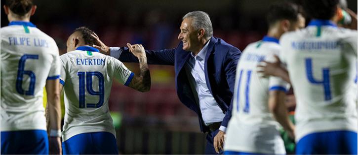 Tite diz que Seleção Brasileira mereceu vaias durante estreia da Copa América 2019