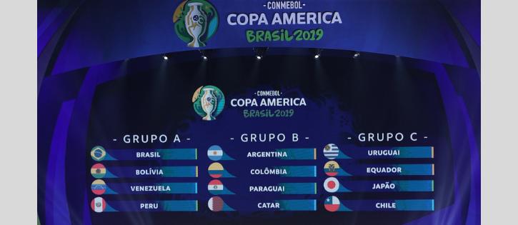 Começa Copa América Brasil 2019