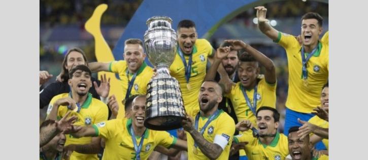 Brasil de Tite vence o Peru e é campeão da Copa América