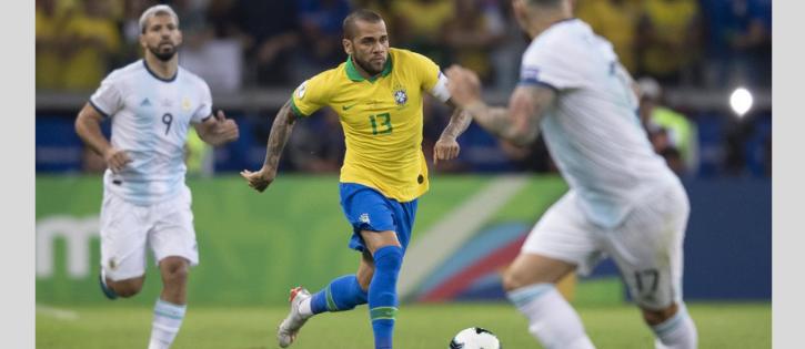 Brasil x Argentina em campo sob alta rivalidade