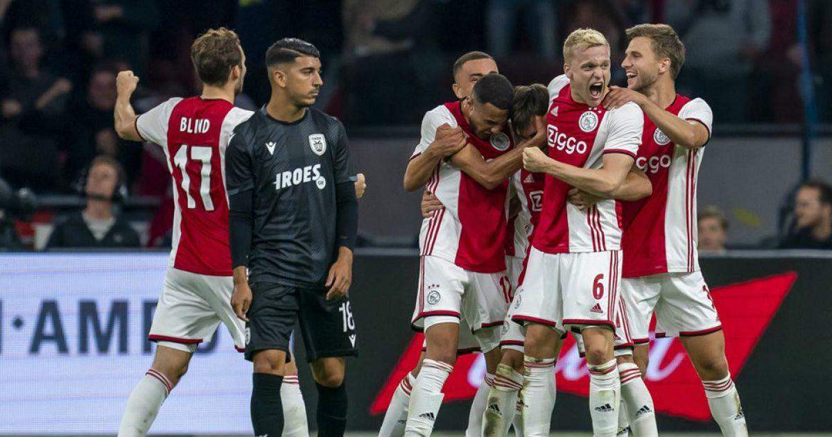 PAOK enfrenta o Ajax hoje pela Liga dos Campeões
