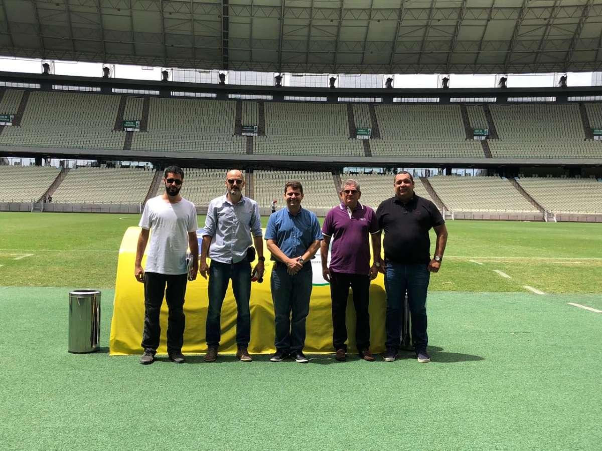 Arena Castelão receberá visita da Conmebol para vistoria