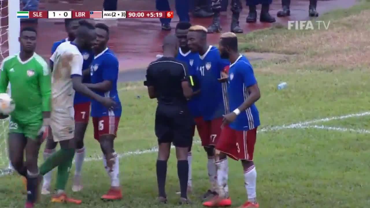 Serra Leoa perde para a Libéria e está fora da Copa em 2022