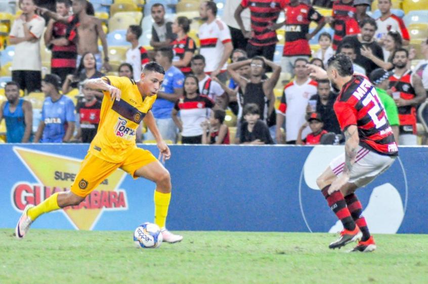 Guilherme Bala, joia do Madureira, é contratado pelo Flamengo