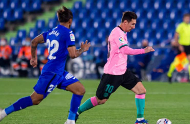 Lionel Messi: 35 chutes sem gols em jogo aberto nesta temporada